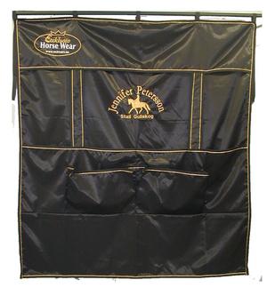 Boxgardin svart modell 4