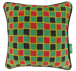 Vintage pillow - Tango Red