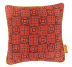 Vintage pillow - Burnt Ochre