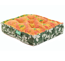 Floor Cushion - Online Lime / Freesia