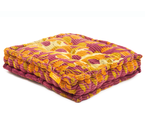 Floor Cushion - Grape Juice / Golden Nugget