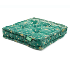 Floor Cushion - Garden Green / Bright Gold