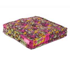 Floor Cushion - Veronica / Honey Gold