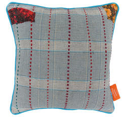 Vintage pillow -  Heritage Blue