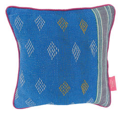 Vintage pillow - Blue Jewel