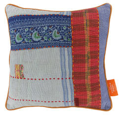 Vintage pillow - Alaskan Blue