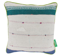 Vintage pillow -Egret