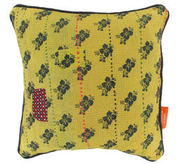 Vintage pillow - Aspen Yellow