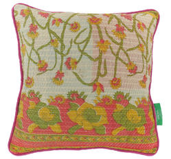 Vintage pillow - Almond Buff