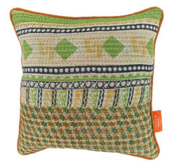 Vintage pillow - Summer Green