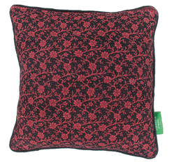 Vintage pillow - Claret Red
