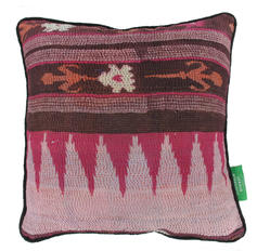 Vintage pillow - Orchid Smoke