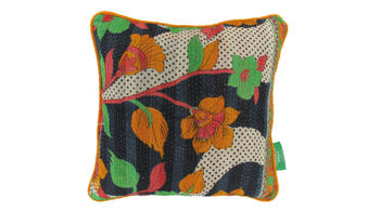 Vintage pillow - Vermillion Orange