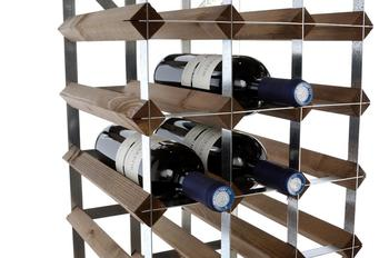 Standard bespoke wine rack ready build in wood