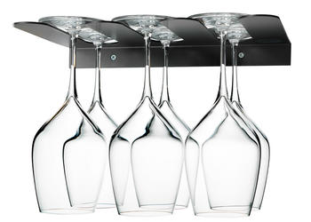 Stemware storage black