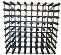 Traditional Wine Rack Trend 72 bottles kit Weathered oak
