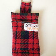 IPhone cover red tartan