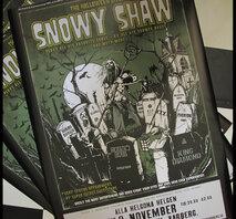 SNOWY SHAW HALLOWEEN SUPER POSTER
