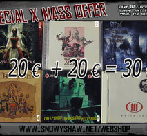SPECIAL X-MASS OFFER. CD DISCOUNT