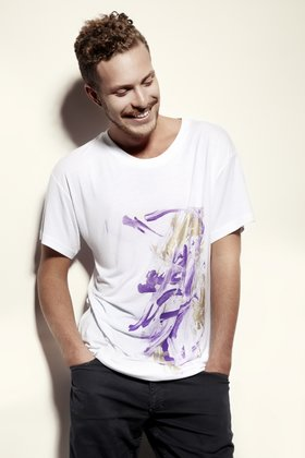 Andrea G &lt;3 Vaggan, Men's Tee, purple art