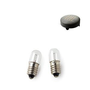 Fotpall/Golvlampa, glödlampa