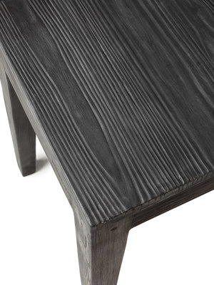 Betongpall, grå med sits av betong