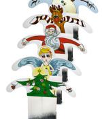 Tepåsar med julkänsla