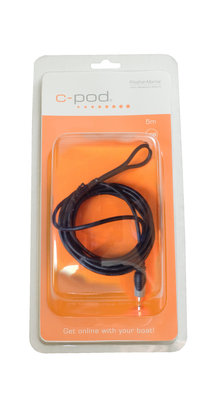 Outboard engine/Safety loop Sensor, USB, 5.5m