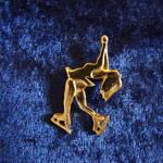 Layback pin guld