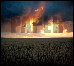 PAPER - AN OBJECT (CD)