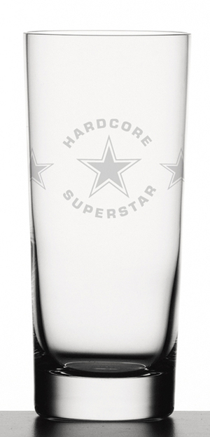 HARDCORE SUPERSTAR - DRINK GLASSES