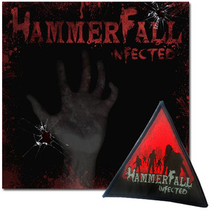 HAMMERFALL - INFECTED (CD) + PATCH