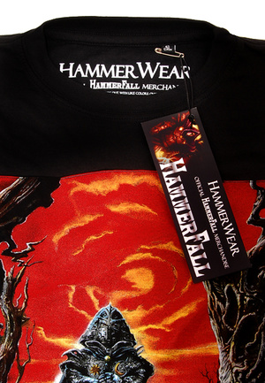 HAMMERFALL - T-SHIRT, GLORY... (Album Edt.)