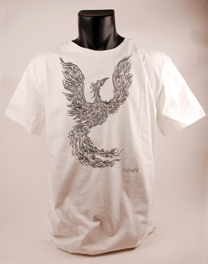 ASHA ALI - T-SHIRT, BIRD