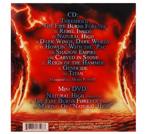 HAMMERFALL - THRESHOLD SWE EDT. (CD/DVD)
