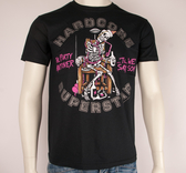 HARDCORE SUPERSTAR - T-SHIRT, PARTY SKELETON