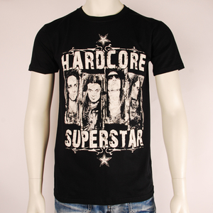 HARDCORE SUPERSTAR - T-SHIRT, TRASHED BAND