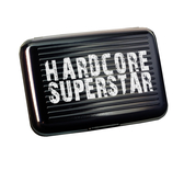 HARDCORE SUPERSTAR - METAL WALLET, LOGO