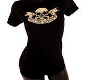 HARDCORE SUPERSTAR - LADY T-SHIRT, SKULL