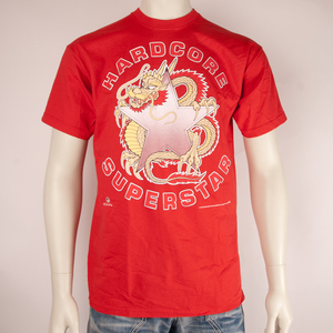 HARDCORE SUPERSTAR - T-SHIRT, RED DRAGON