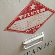 Kistbyr White Star Line maritim med handtag