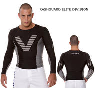 Rashguard Langrmet Sort