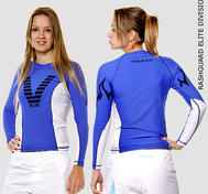 Rashguard Langrmet Bl