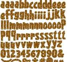 Reminisce - Wild Thing alphabet giraf stickers