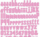 Reminisce - Girly Girl Alphabet stickers