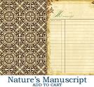 Webster´s - Nature´s Storybook Natures Manuscript
