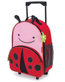 Skip Hop Zoo Luggage Cabin Bag Ladybird