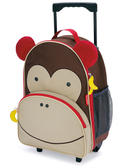 Skip Hop Zoo Luggage Cabin Bag Monkey