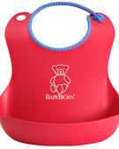Baby Bjorn Soft Bib Red