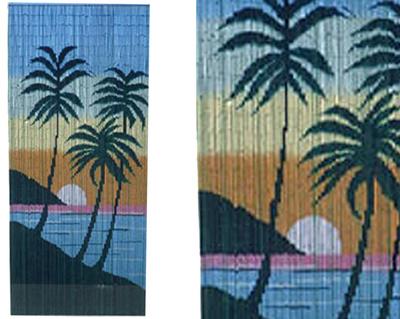 Curtain Sundawn Hawaii bamboo